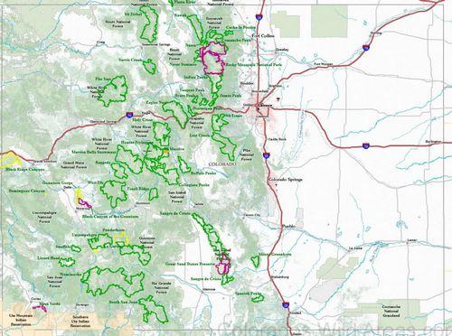 Wilderness Areas Western Colorado Outdoors