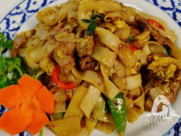 singha thai restaurant  western colorado outdoors